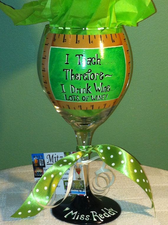 Lol i need this ...Hey, I found this really awesome Etsy listing at https://www.etsy.com/listing/126320050/teachers-wine-glass