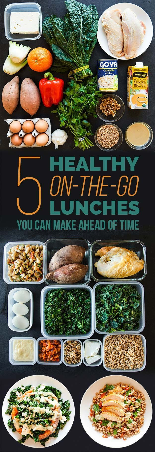 Healthy Lunches for Work - Here's Exactly How To Meal Prep For Lunch This Week- Easy, Quick and Cheap Clean Eating Recipes That You Can Take To Work - Weekly Meals That Are Great for Health Fitness and Weightloss - Simple Low Carb Meals That are High In Protein and Taste Great Cold - Vegetarian Options and Weight Watchers Friendly Ideas that Require No Heat - thegoddess.com/healthy-lunches-for-work