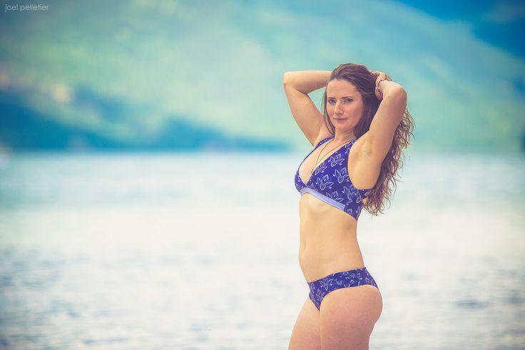 Reversible Bikinis, Lotus Print. SUP Yoga wear, Surf Swim Suits.  Shop @ knottyboards.ca