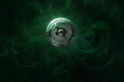 DotA 2 ZAWÓR International Corporation logo gry wideo