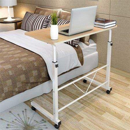 Ktaxon Laptop Desk Height Adjustable Rolling Notebook Sofa Bedside Sofa Table Stand Walmart Com In 2020 Bed Table Adjustable Computer Desk Adjustable Height Desk