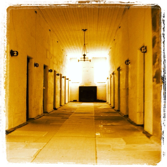 What ghosts live in these old cells??