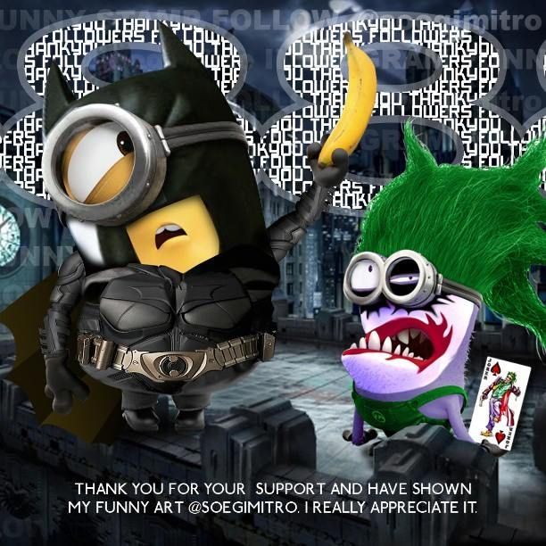 Download cool funny avenger minions 1080 x 1920 Wallpapers ...