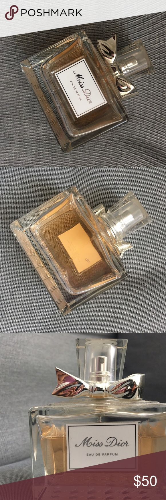 Miss Dior Perfume Priced for quick sale. I'm not sure how many oz this bottle is or how much is left but it's barely used. 3/4 of the bottle left ! Dior Other