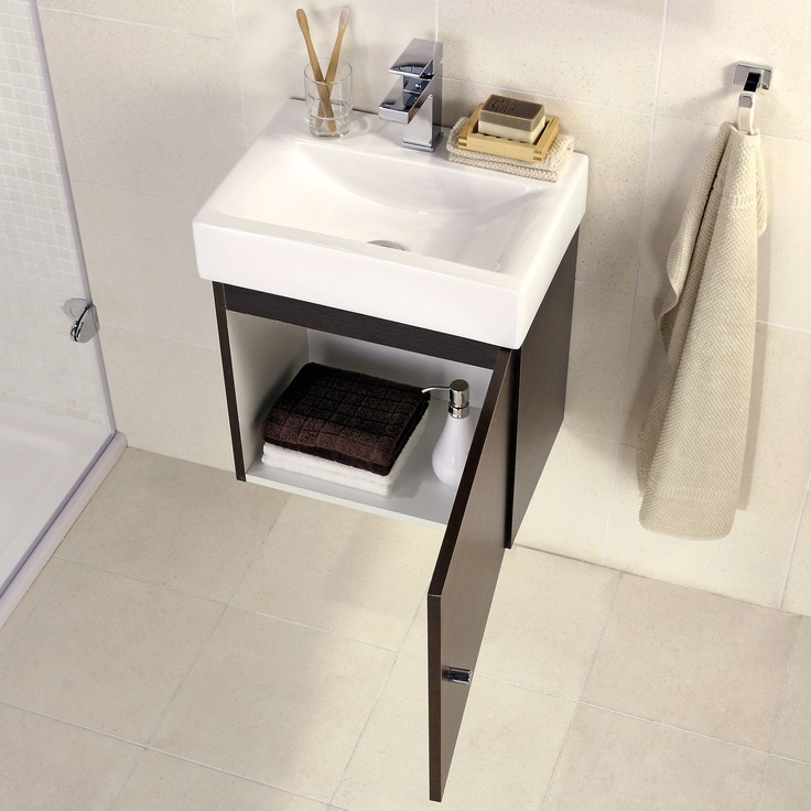 Small Vanity Unit With Cupboard Ariane Wall Hung Vanity Unit With