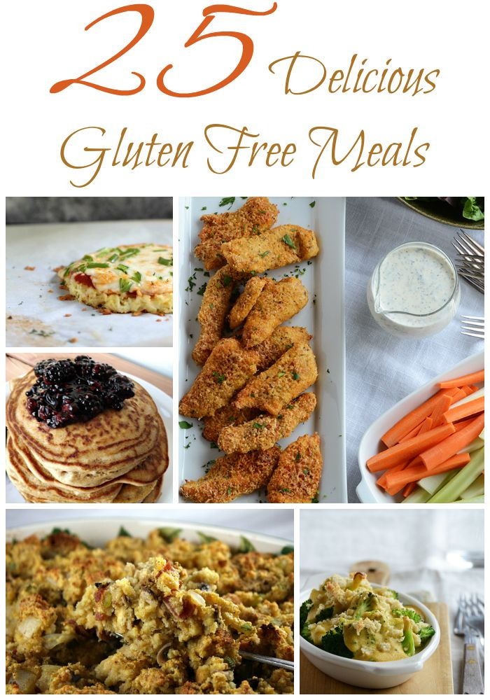 25 Delicious Gluten Free Meals - A Spark of Creativity