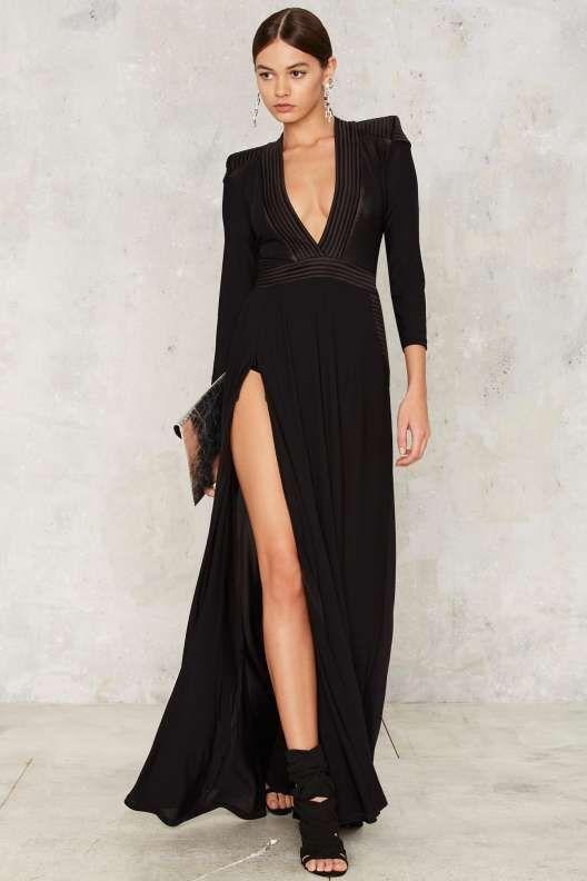 Zhivago Embrace Slit Dress
