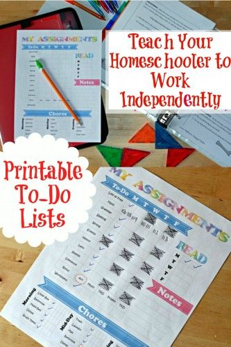 How To Teach Your Homeschooler To Work Independently –