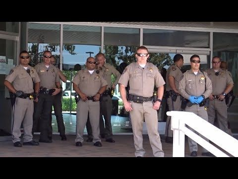 SHOCK VIDEO: TRUMP SUPPORTERS GO TO MARC STEINORTH'S OFFICE. POLICE RESPONSE LIKE TERRORIST ATTACK - YouTube