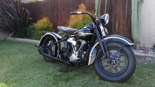 1939 Harley-Davidson Knucklehead (for sale)
