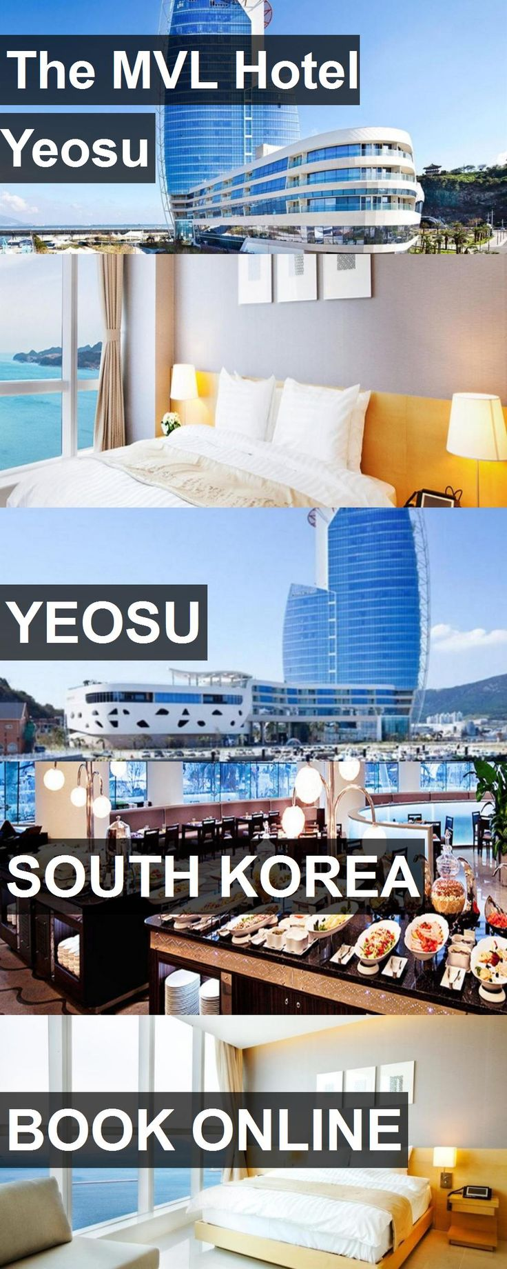 Hotel The MVL Hotel Yeosu in Yeosu, South Korea. For more information, photos, reviews and best prices please follow the link. #SouthKorea #Yeosu #TheMVLHotelYeosu #hotel #travel #vacation