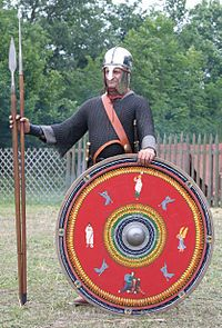Aug. 9, 378:   The Battle of Adrianople .  The Romans were defeated by the Visigoths.  Battle of Adrianople - Wikipedia