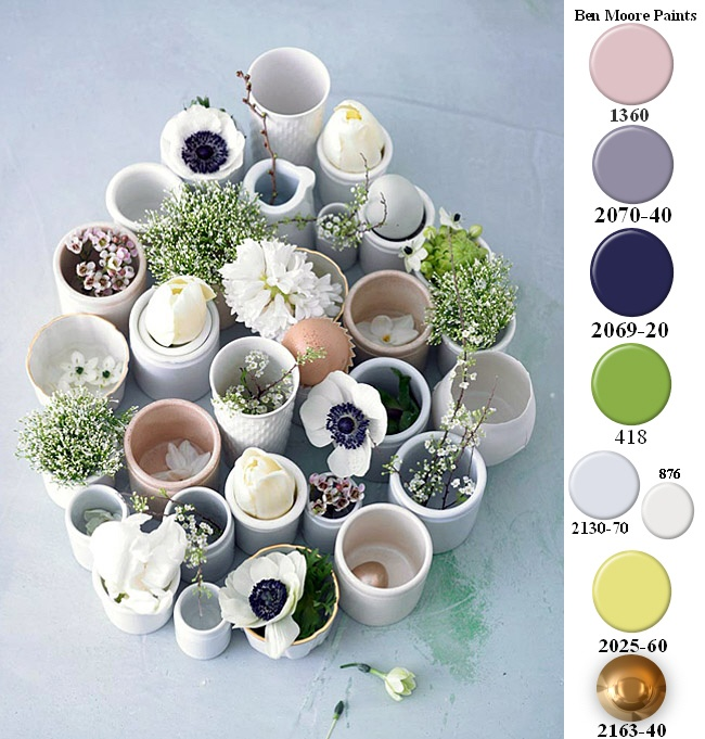 A Neutral Palette and Benjamin Moore Color approximations