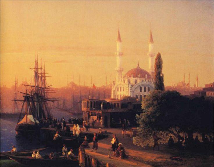 Constantinople - Ivan Aivazovsky, 1856