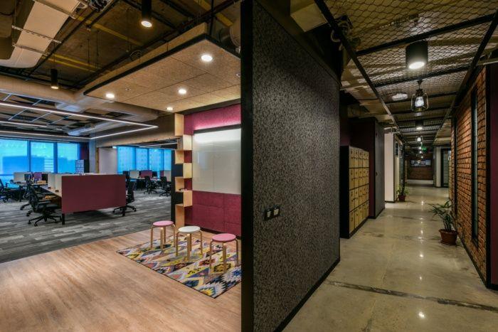 Microsoft Offices Hyderabad Office Snapshots Office Interior Design Microsoft Office Office Collaboration Area