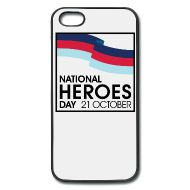 Heroes Day iPhone 5 Rubber Case