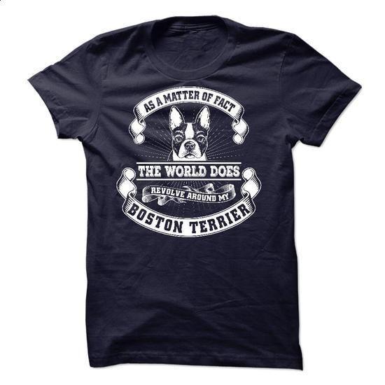 Boston Terrier - #white shirt #shirts for men. BUY NOW => https://www.sunfrog.com/Pets/Boston-Terrier-52097435-Guys.html?60505
