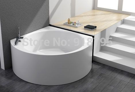 Cheap bathtub massage, Buy Quality bathtub corner directly from China bathtubs for the elderly Suppliers: Triangle wall corner bathtub with soaking fiber glass free standing  tub indoor spa RS6470