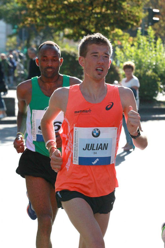 Julian Flügel läuft Frühjahrsmarathon in Hamburg
