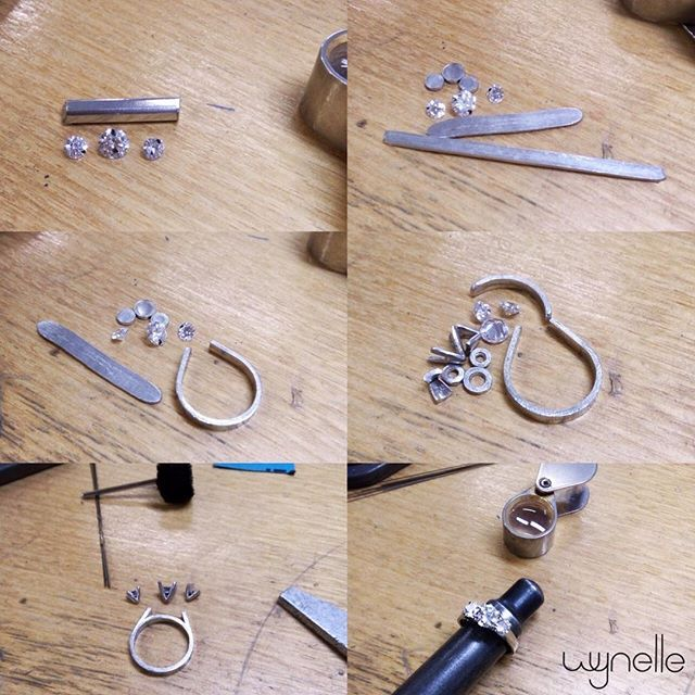 Handcrafted • Handmade  You're dream ring comes to life with Wynelle's team of Jewellery Designers and Master Jewellers.