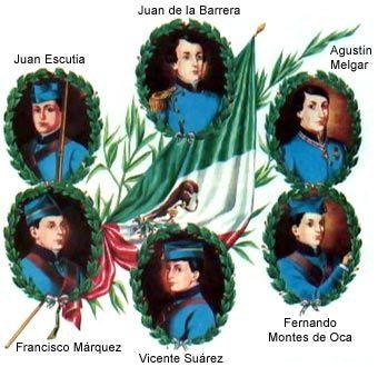 Los Ninos Heroes de Chapultepec