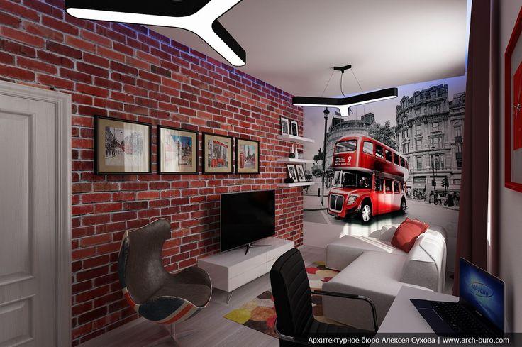 подростковая комната в стиле хай-тек - Поиск в Google