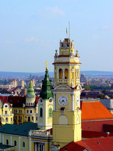 Romania Transylvania Oradea Towers