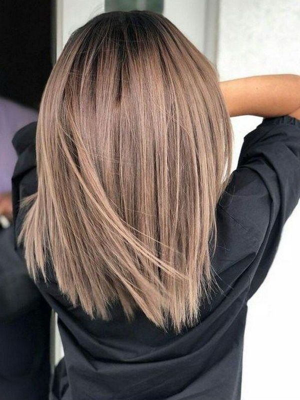 35 Easy Medium Length Hairstyles For Women 2020 Straight Bob