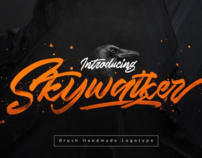 "Check out new work on my @Behance portfolio: ""Skywalker - New Handmade Typeface"" http://be.net/gallery/48997633/Skywalker-New-Handmade-Typeface"