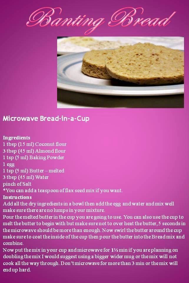 Microwave bread by Anina Den Heyer