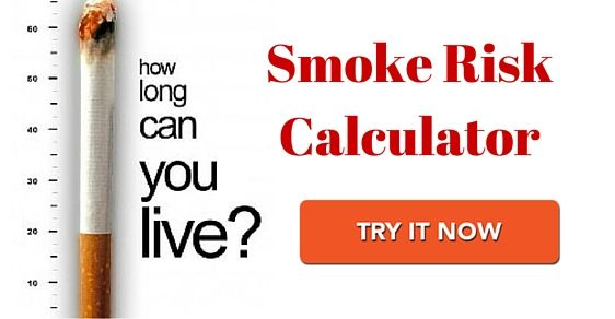 Do you smoke cigarettes daily? Use smoking risk calculator and calculate your reduced Life Span!