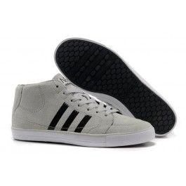 Køligt Adidas Vlneo Hoops Mid Shoes Lysgrå Sort Hvid Herre Skobutik | Købe Adidas Vlneo Hoops Mid Shoes Low Skobutik | Adidas Skobutik Salg | denmarksko.com