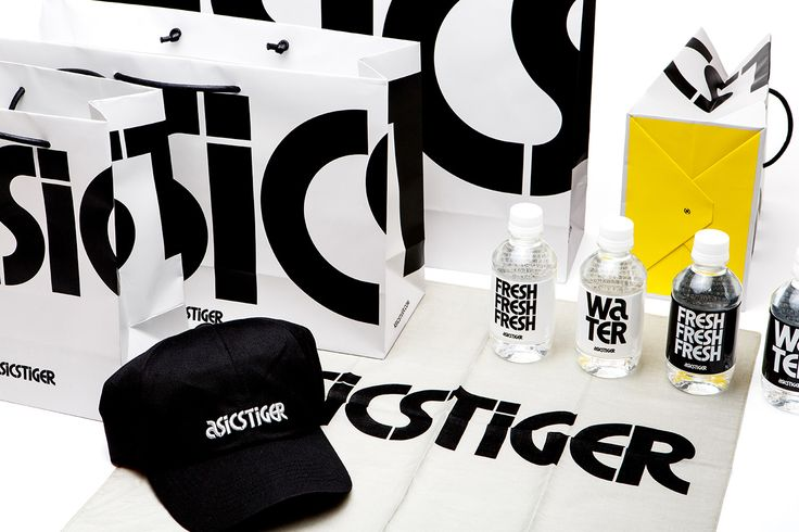 ASICS Tiger by Bruce Mau. #branding