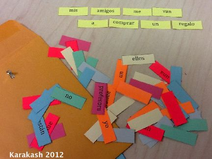 Good Spanish blog - lots of ideas and projects for teachers.