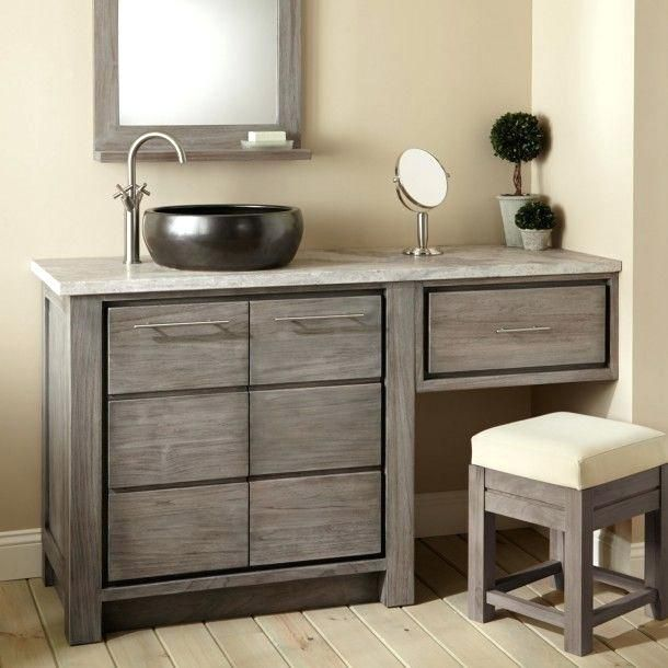 60 Vanity Single Sink Smartphone Inch Bathroom Design New With Top Left Side Bathroom With Makeup Vanity Bathroom Vanity Vanity Sink
