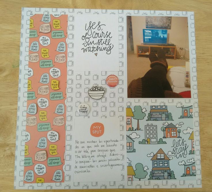 Scrapbook, scrapbooking, layout, feed your craft, homebodies