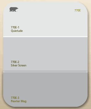 Possible New Wall Color Either Silver Screen Or The Pewter Mug Not Sure If I Want To Paint Though Gray Colors In 2018 Pinterest