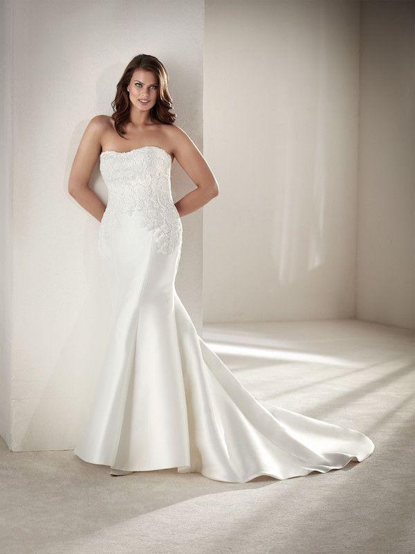 vestidos de novia pronovias 2018 tallas grandes | vestidos de novia