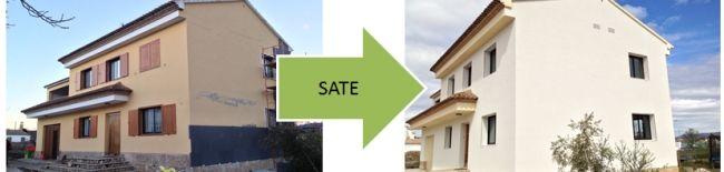 los sistemas de aislamiento SATE destaca su eficacia térmica y los acabados, permiten un ahorro considerable de energía mucho más mayor que cualquier otro sistema de aislamiento térmico. También, como mencionábamos anteriormente permite revalorizar su vivienda gracias al acabado exterior y la eficiencia térmica que le añade.