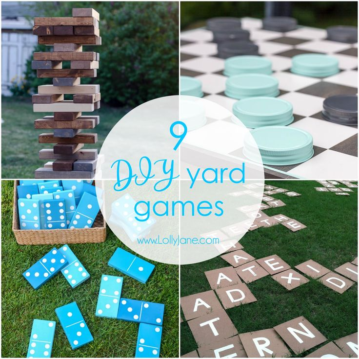 25 best ideas about outdoor games adults on pinterest for Diy party games for adults