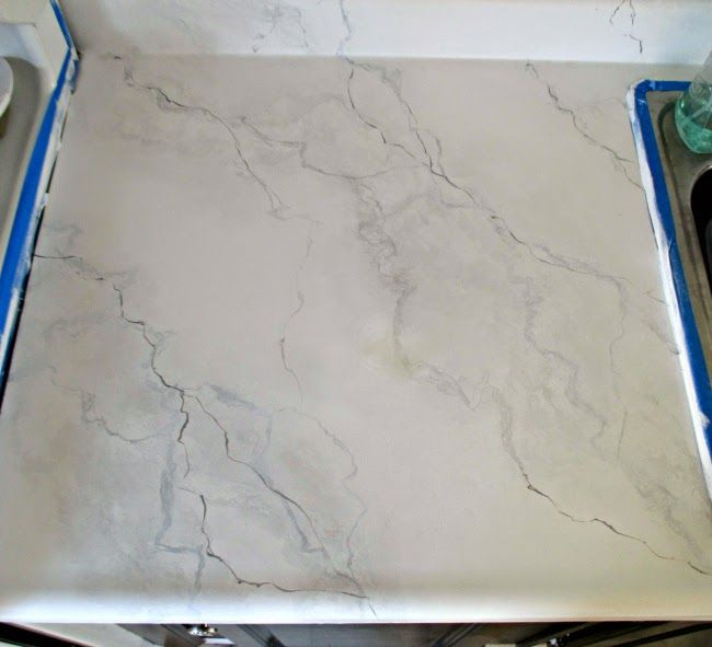 Turning Laminate Counters Into Concrete Counters Diy