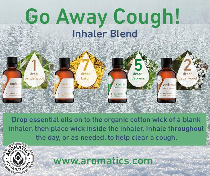 Go Away Cough inhaler blend