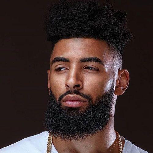 35 Black Men Beard Styles 2019 Guide