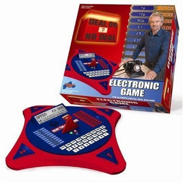 Electronic DEAL OR NO DEAL Game - Used Condition