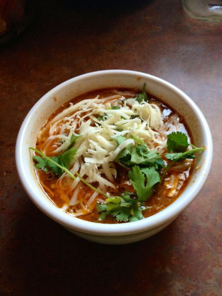 low gi chicken noodle soup recipe