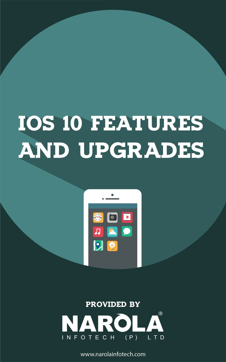 iOS 10 Features and Upgrades