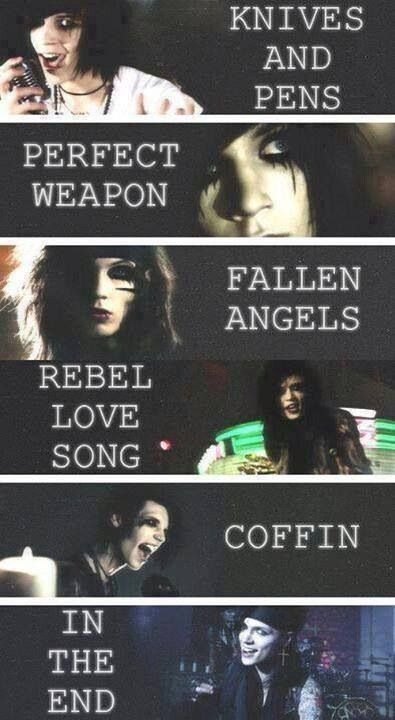 49 best Andy Biersack images on Pinterest | Music, Andy ...