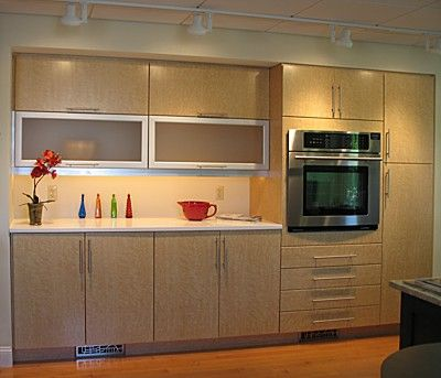 Kitchen with ultracraft cabinets display at our berlin ma kitchen showroom our design for Kitchen design showrooms boston