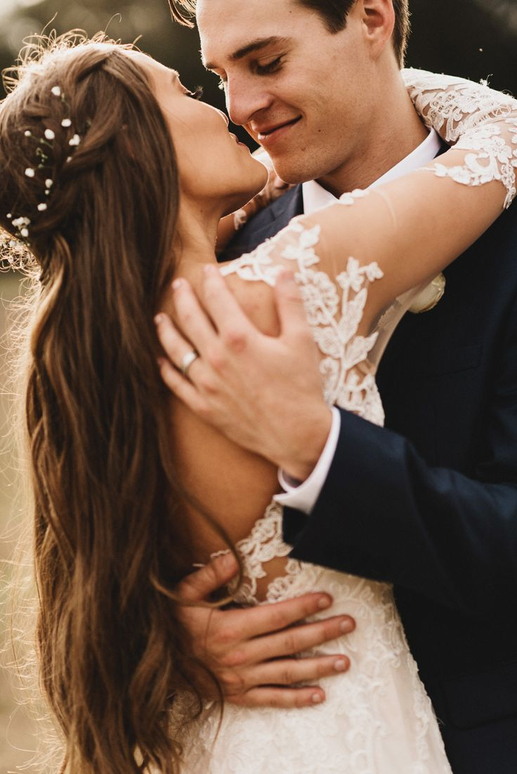 This is such a sweet wedding photo. I like how it is more focused on the groom instead of the bride. Wedding photography | bride and groom