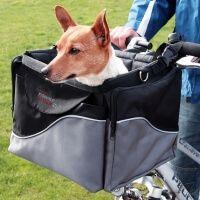 Panier avant à vélo pour chien Front-box de Luxe